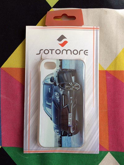 Фото Чехол для iPhone 4/4S Sotomore с Porshe