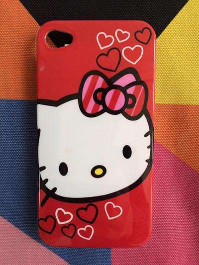 Фото Чехол для iPhone 4/4S с Hello Kitty