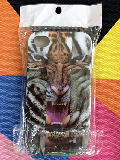 Фото Чехол для iPhone 4/4S just cavalli с тигром