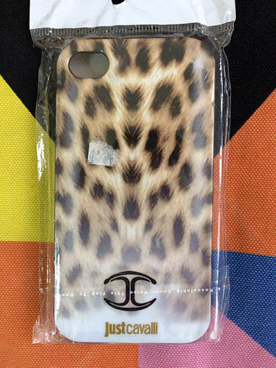 Фото Чехол для iPhone 4/4S just cavalli 2