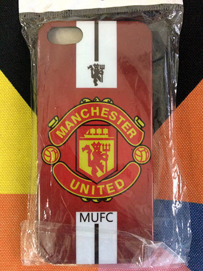 Фото Чехол для iPhone 5/5S/SE manchester united