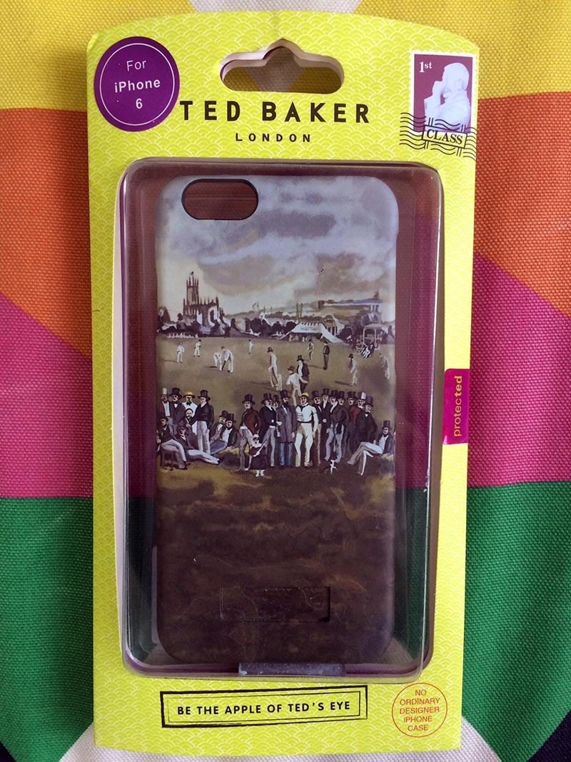 фото Чехол для iPhone 6/6S Ted Baker картинка