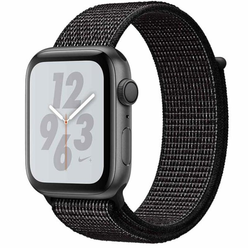 Фото Apple Watch S4 44mm Space Gray Al + Black Sport Loop