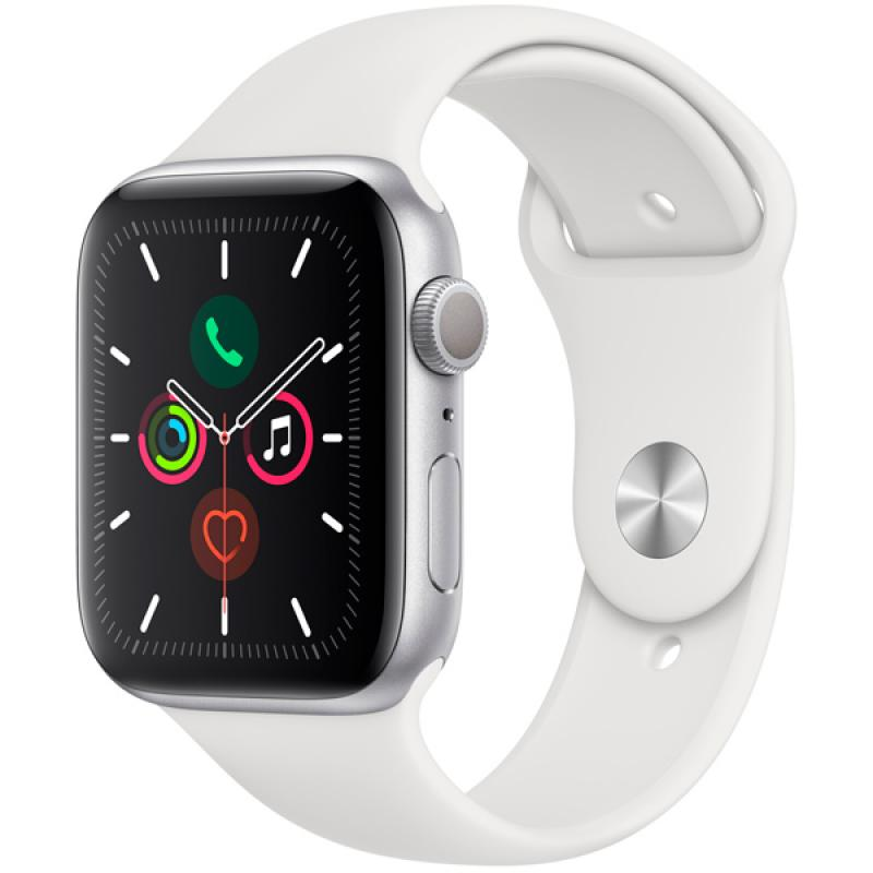 Фото Apple Watch S5 44mm Silver Sport Band