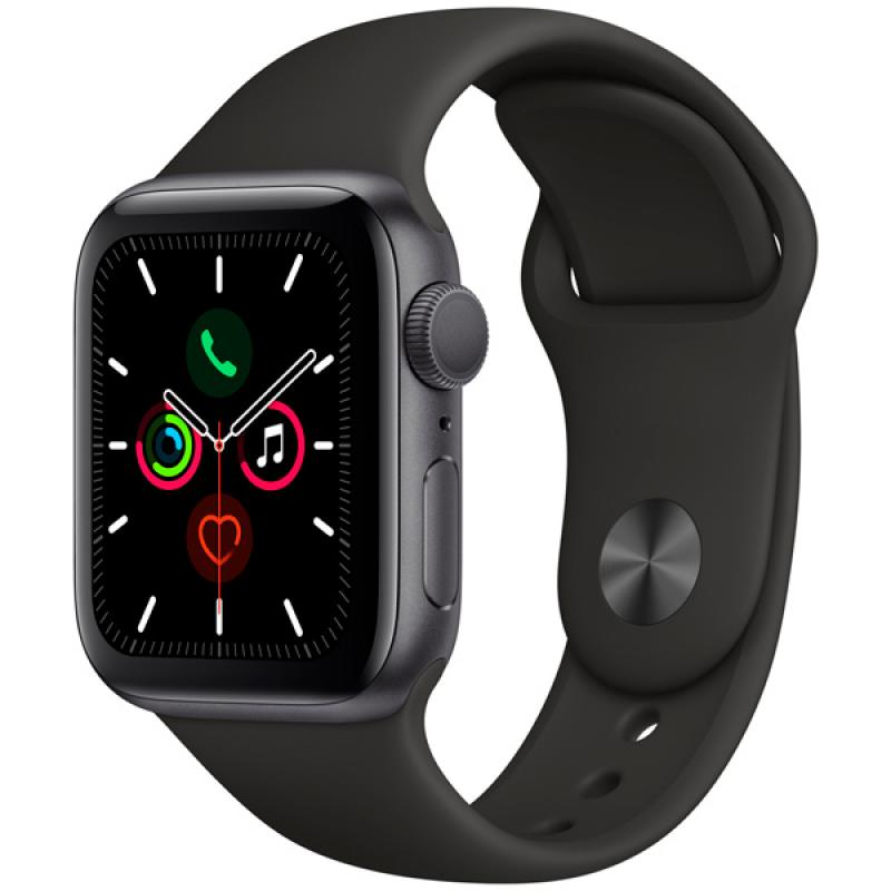 Фото Apple Watch S5 40mm Space gray Sport Band