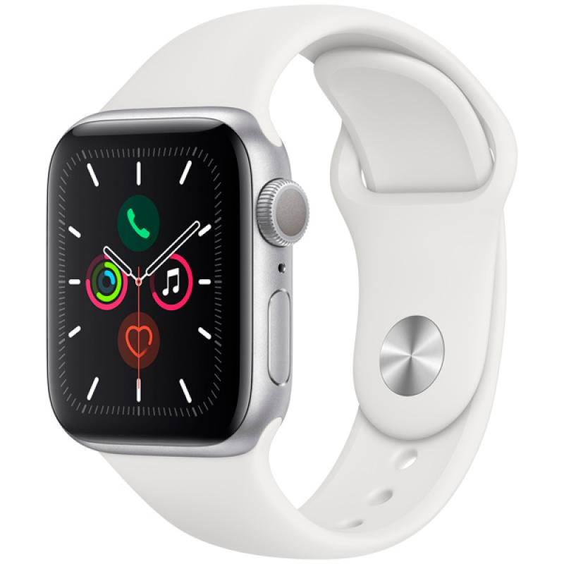 Фото Apple Watch S5 40mm Silver Sport Band