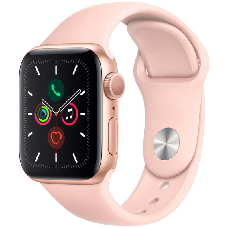 Фото Apple Watch S5 40mm Gold Sport Band
