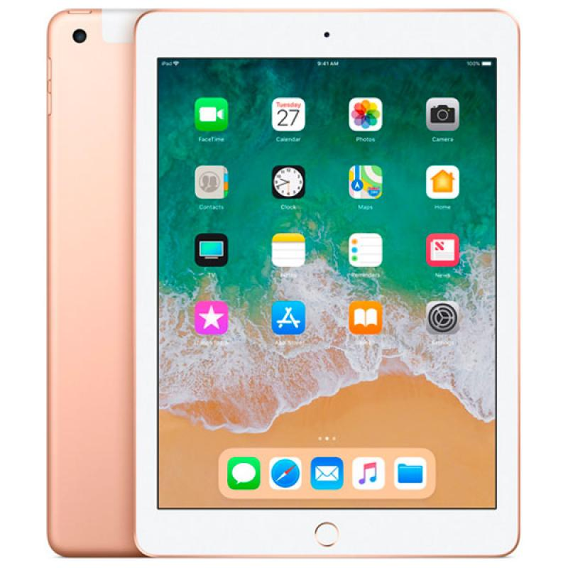 Фото iPad 2018 32GB Wi-Fi+Cell Gold