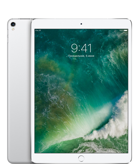 Фото iPad Pro 10.5 256GB Silver wi-fi+cellular