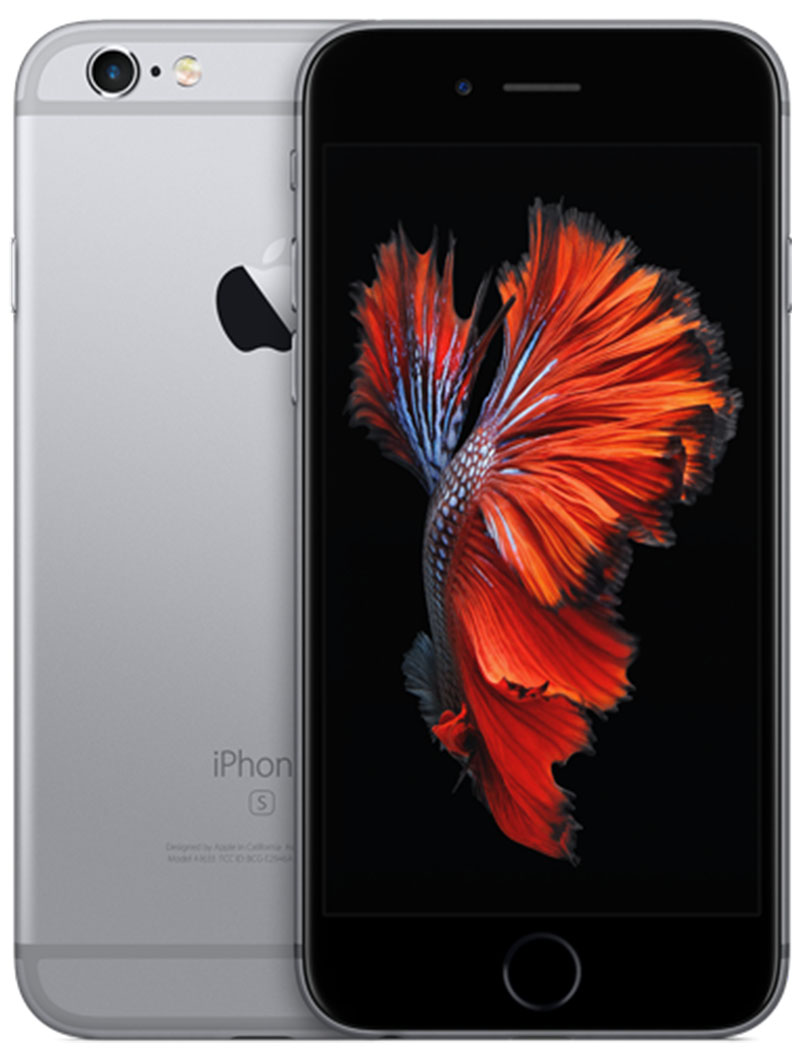 Фото iPhone 6S Plus 128GB Space Gray (временно недоступен...)