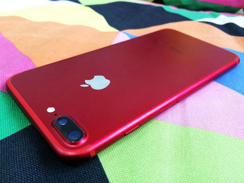 Фото iPhone 7 PLUS 128GB RED б/у
