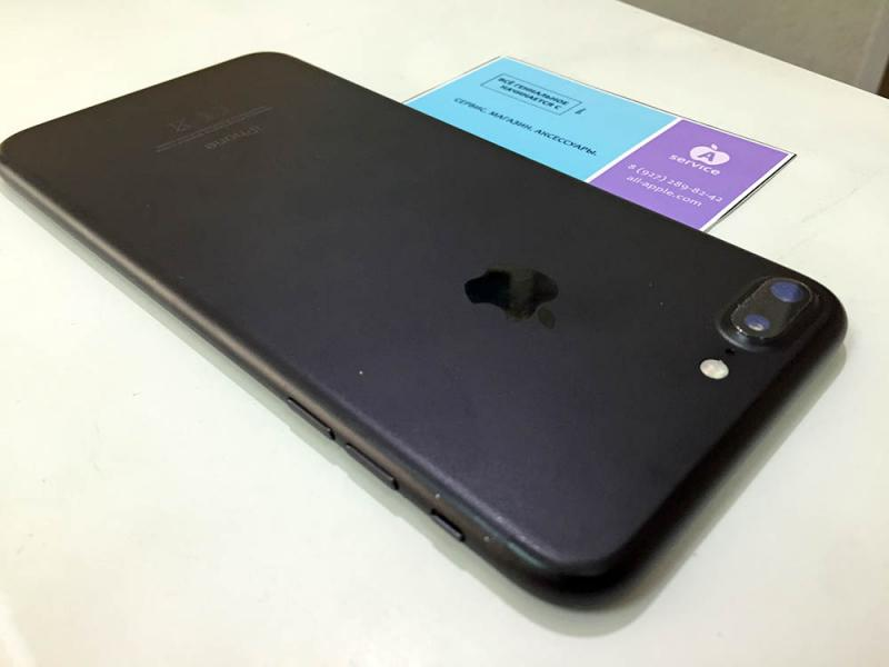 Фото iPhone 7 Plus 32GB Black б/у