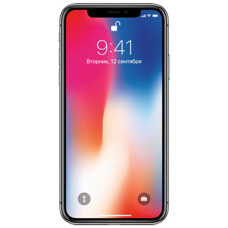 Фото iPhone X 256GB Space gray LL