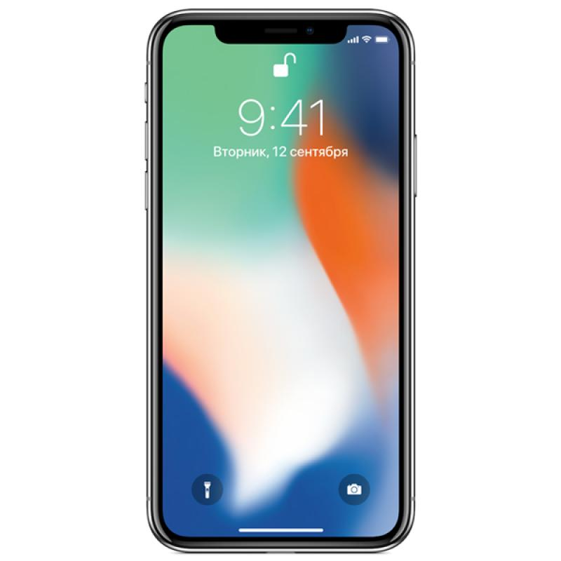 Фото iPhone X 64GB Silver LL