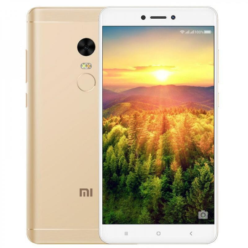 Фото Xiaomi Redmi Note 4X 3/16GB SNAP GOLD