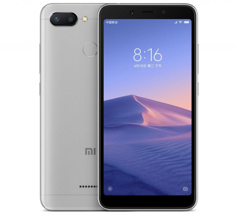 Фото Xiaomi Redmi 6A 2/16Gb Gray